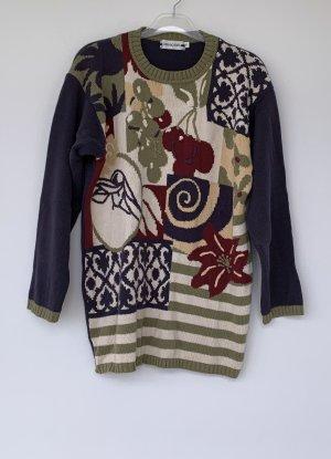 Passport Maglione lavorato a maglia multicolore Tessuto misto