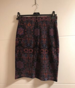 Charles Vögele High Waist Skirt multicolored