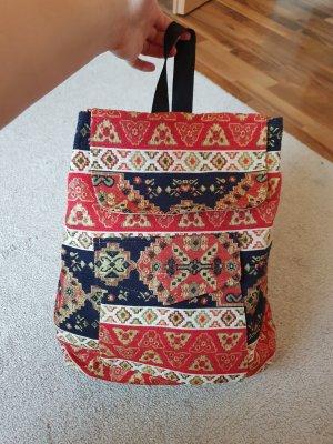 American Vintage Sac à dos à roulettes multicolore