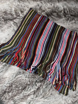 keine Ahnung Knitted Scarf multicolored