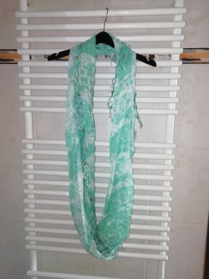 Accessoires Fringed Scarf white-light blue