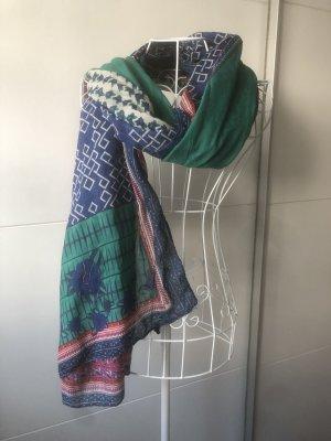 Bunter Schal Tuch