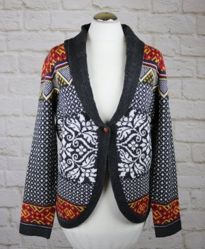 Gina Norwegian Cardigan multicolored polyacrylic