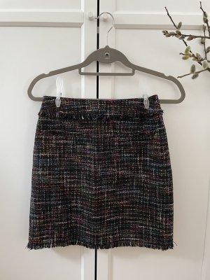 H&M Spódnica z dzianiny Wielokolorowy
