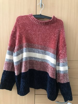 Pull & Bear Knitted Top multicolored