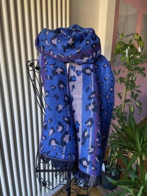 Gina Sciarpa lavorata a maglia multicolore