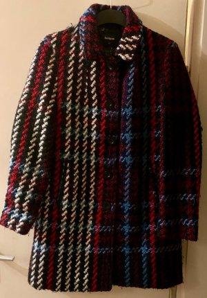 Desigual Manteau en laine multicolore