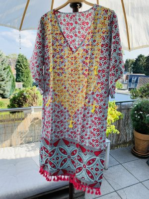Beach Dress multicolored polyester