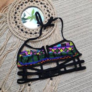 Buntes Bikini Oberteil von Asos