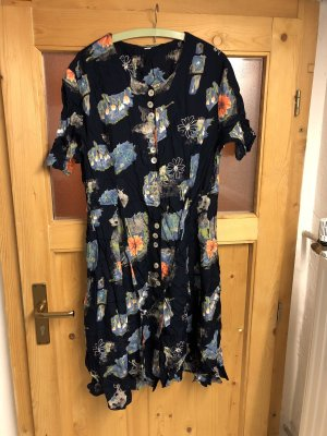 Buntes Damen Kleid größe 46