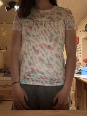 Buntes Hollister T-Shirt in S