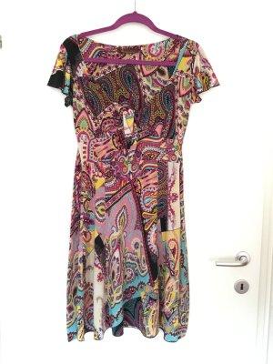 Buntes Jersey Sommerkleid