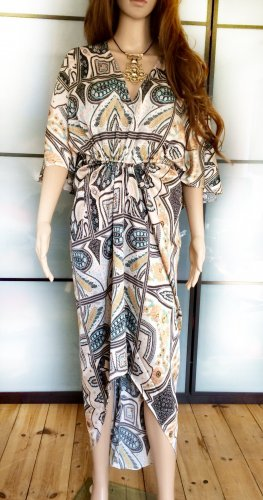 H&M Caftan multicolored