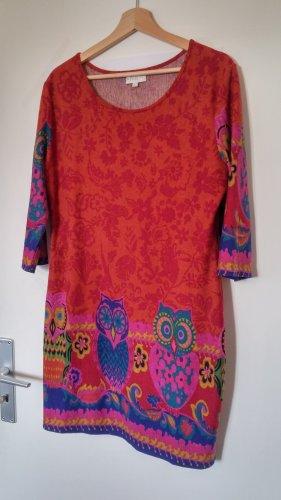 Buntes Kleid mit 3/4-Ärmel von APRICOT