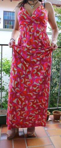 Buntes Kleid mit Motiv
