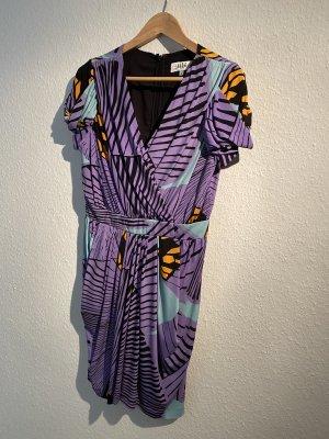 Tibi NYC Shortsleeve Dress multicolored polyester