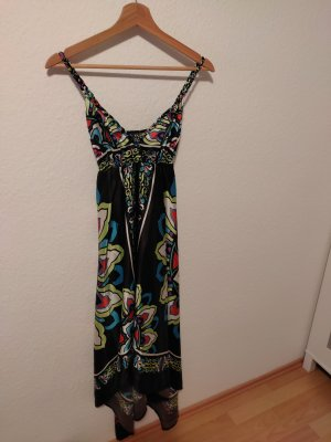 Attentif High Low Dress multicolored