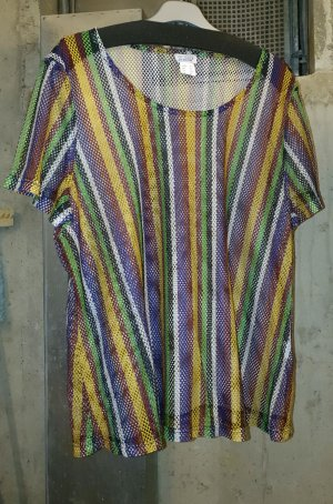 Angel of Style Mesh Shirt multicolored polyester