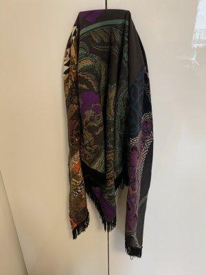 Epice Bufanda de flecos multicolor