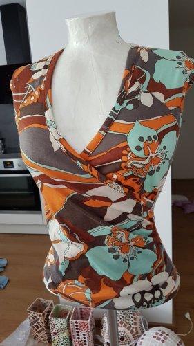 Xanaka Blusa senza maniche multicolore