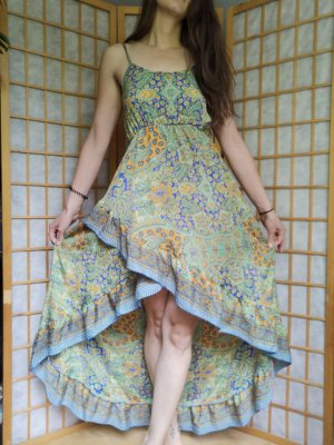 Buntes Sommerkleid Boho Fashion