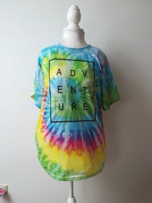 buntes T-shirt mit Batikmuster NEU!