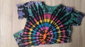 Buntes Tie-Dye Shirt