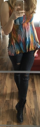 Aniston A Line Top multicolored