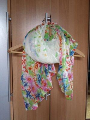 Zara Fazzoletto da collo multicolore