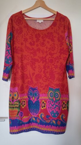 Apricot Longsleeve Dress multicolored polyester