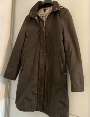 Burberry Hooded Coat brown