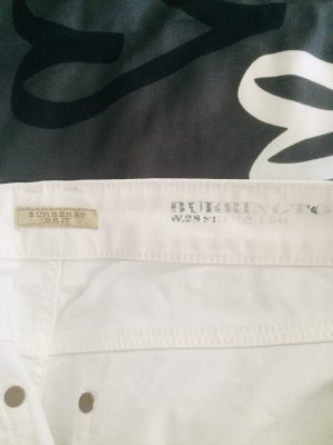 Burberry London Jeans a 3/4 bianco