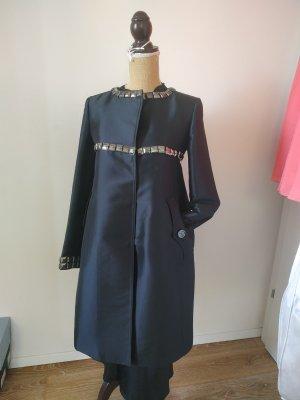 Burberry Sukienka płaszczowa czarny-srebrny