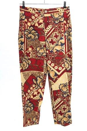 Burberry Spodnie 7/8 Abstrakcyjny wzór W stylu casual
