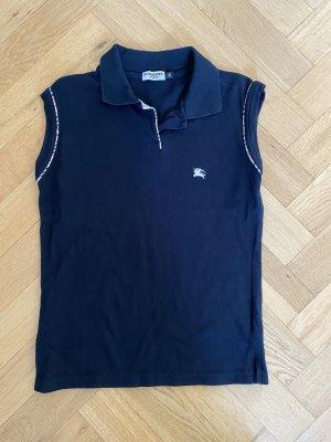 Burberry Polo Shirt black cotton