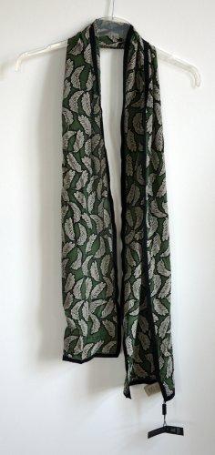 Burberry Sjaal van kasjmier bos Groen-zwart Modal