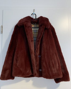 Burberry Alnswick Faux Fur Coat