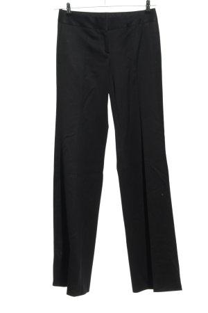 Burberry Spodnie garniturowe czarny W stylu biznesowym