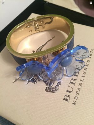 Burberry Mouwband blauw