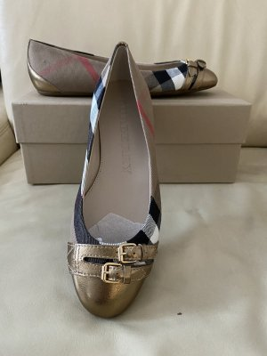 Burberry Foldable Ballet Flats multicolored
