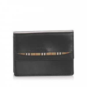 Burberry Bi-Fold Leather Wallet