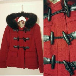 Burberry Brit Wool Jacket carmine
