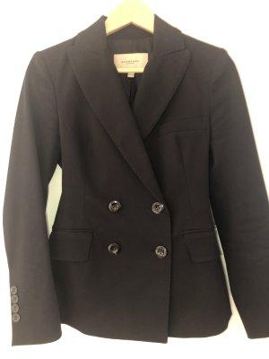 Burberry Short Blazer black cotton
