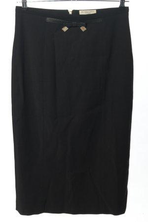 Burberry Jupe crayon noir style d'affaires