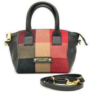 Burberry Handbag black textile fiber
