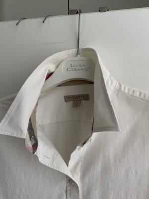 Burberry Brit Blouse met lange mouwen wit Katoen