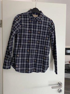 Burberry London Long Sleeve Blouse black