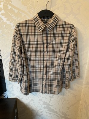 Burberry Geruite blouse veelkleurig