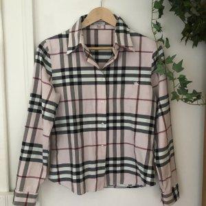 BURBERRY Bluse - rosa - schwarz - weiß - rot - nur anprobiert - wie NEU