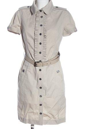 Burberry Vestido camisero blanco puro look casual